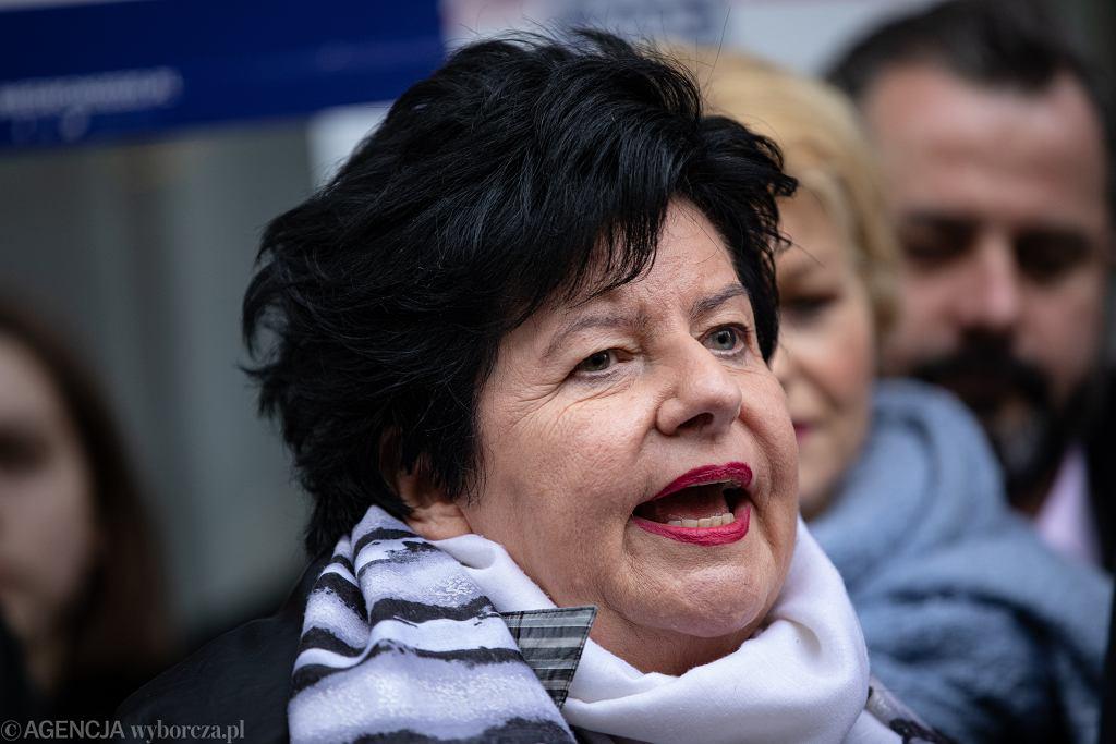 Joanna Senyszyn, posłanka Lewicy