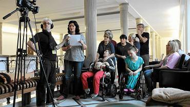 Rodzice niepełnosprawnych dzieci w niedzielę w Sejmie