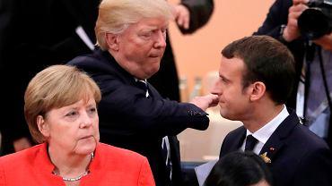 Zarówno kanclerz Niemiec Angela Merkel, jak i prezydent Francji  Emmanuel Macron w ostatnich dniach przekonywali Trumpa w Waszyngtonie, by nie zrywał porozumienia z Iranem