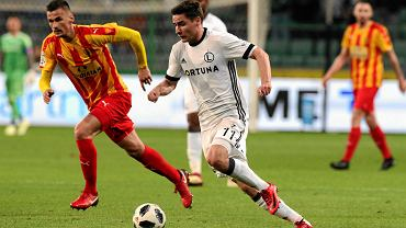 Legia Warszawa wygrała z Koroną Kielce 3:1