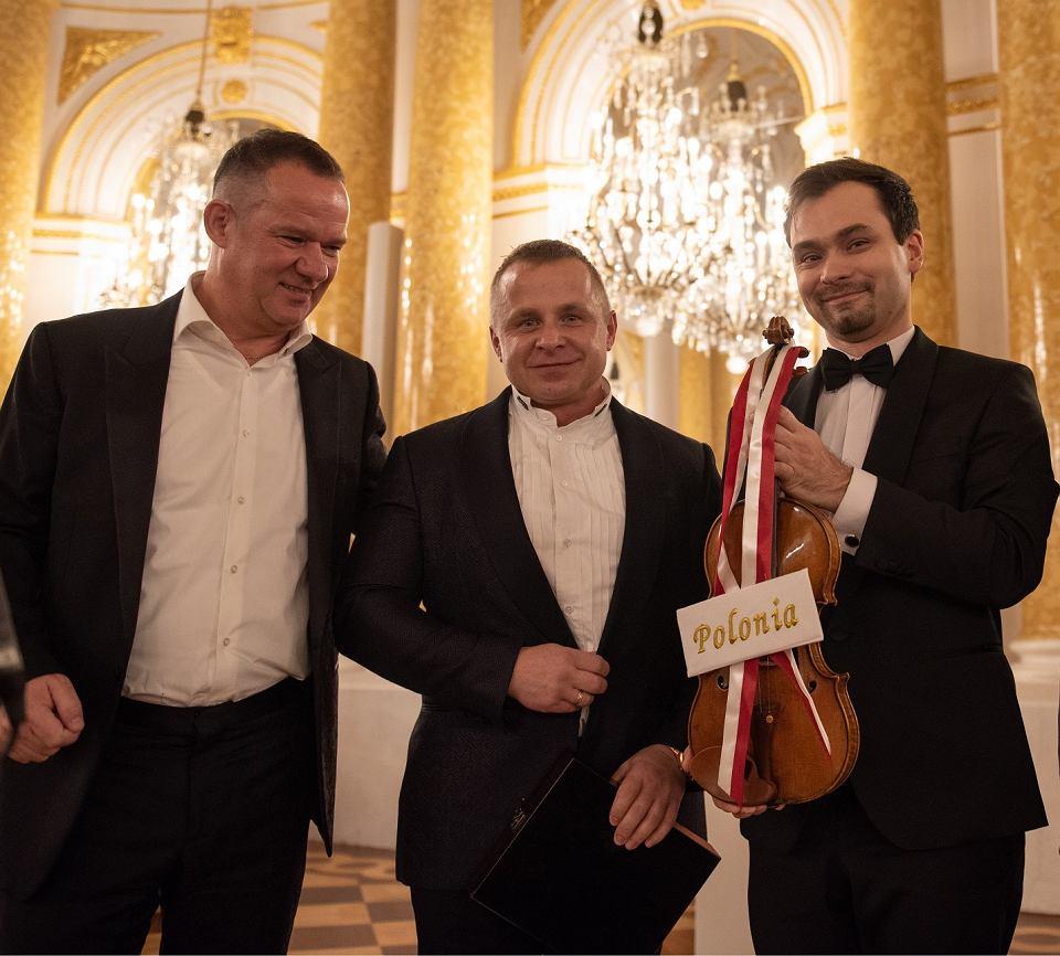 Zdjęcie numer 3 w galerii - Polski wirtuoz wystąpił w NFM. Zagrał na skrzypcach Stradivariusa
