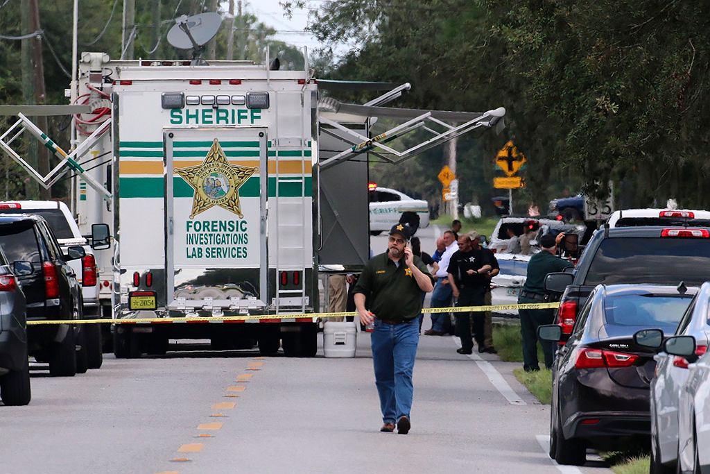 Miejsce strzelaniny na Florydzie