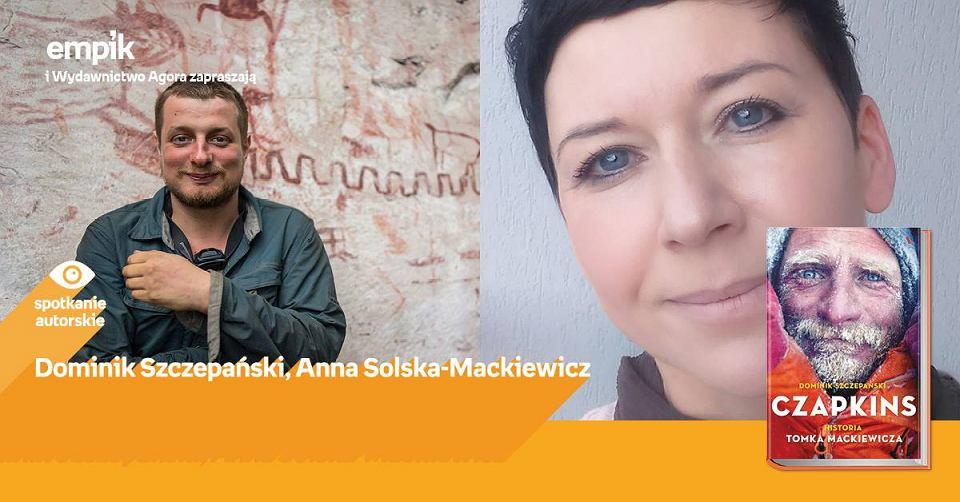 Spotkanie z Dominikiem Szczepańskim, autorem książki o Tomku Mackiewiczu
