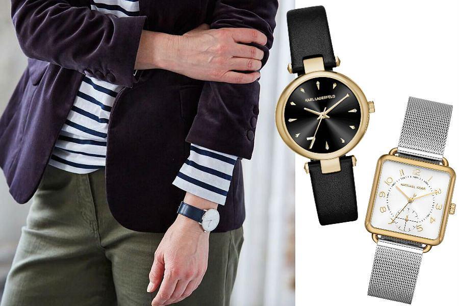 Eleganckie zegarki dla dojrzałych kobiet