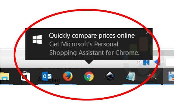 Windows 10 może wyświetlać reklamy