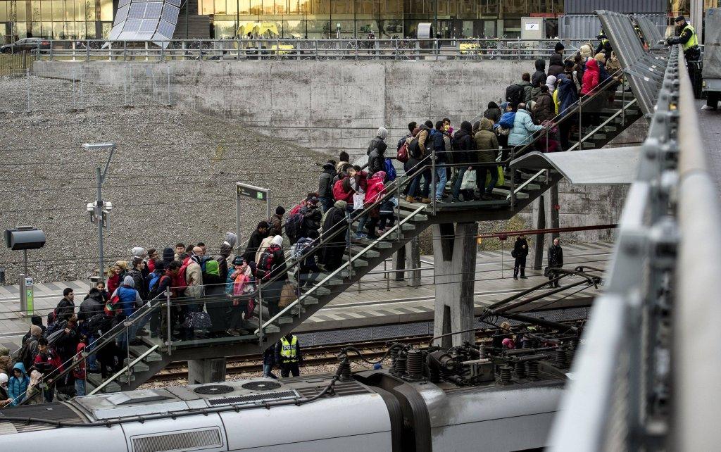 Uchodźcy w szwedzkim Malmo