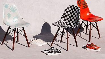Buty od Vans & krzesła od Modernica