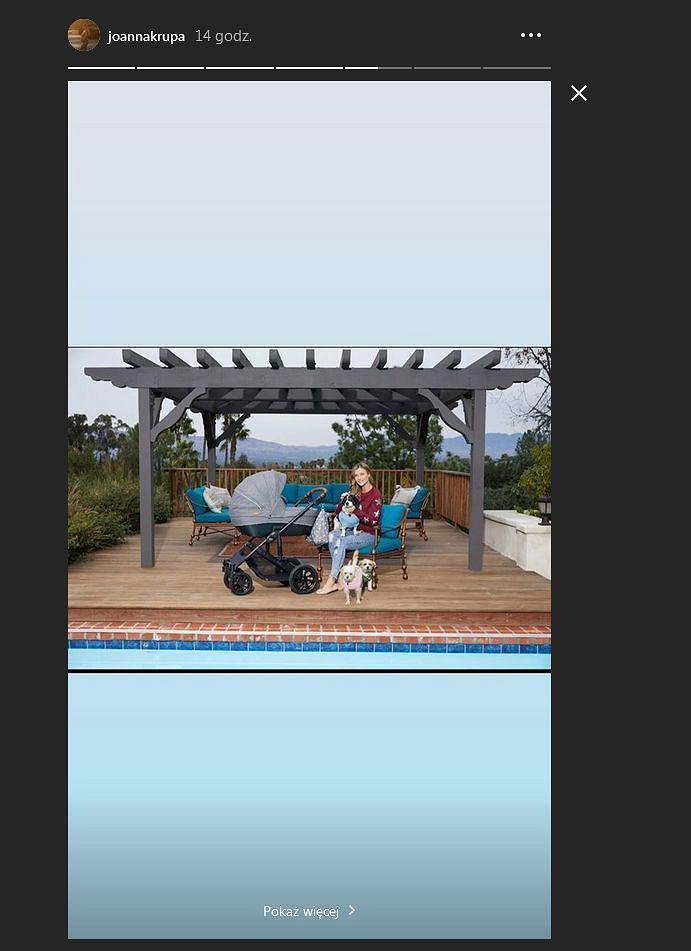 Joanna Krupa pokazała wózek dla dziecka