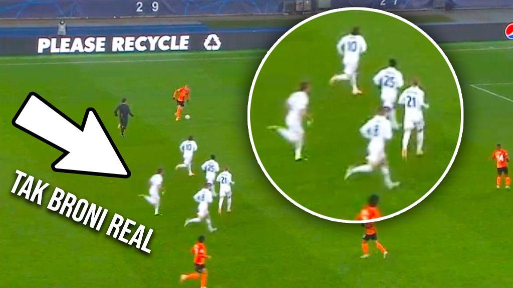 Tak broni Real Madryt