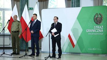 Tomasz Praga, Mariusz Błaszczak, Mariusz Kamiński