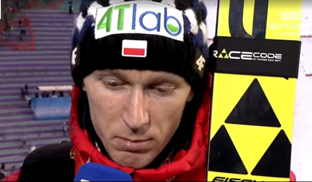 Stefan Hula po konkursie drużynowym na MŚ w Seefeld