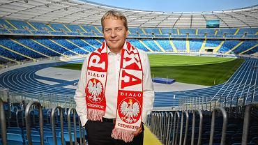Wojciech Saługa na Stadionie Śląskim
