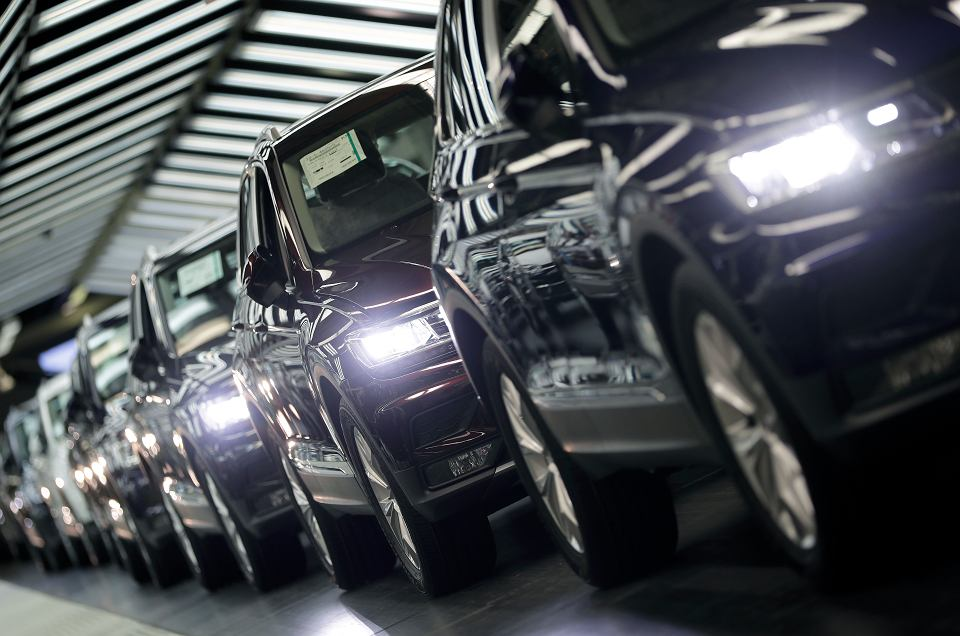 Fabryka Volkswagena w Wolfsburgu.