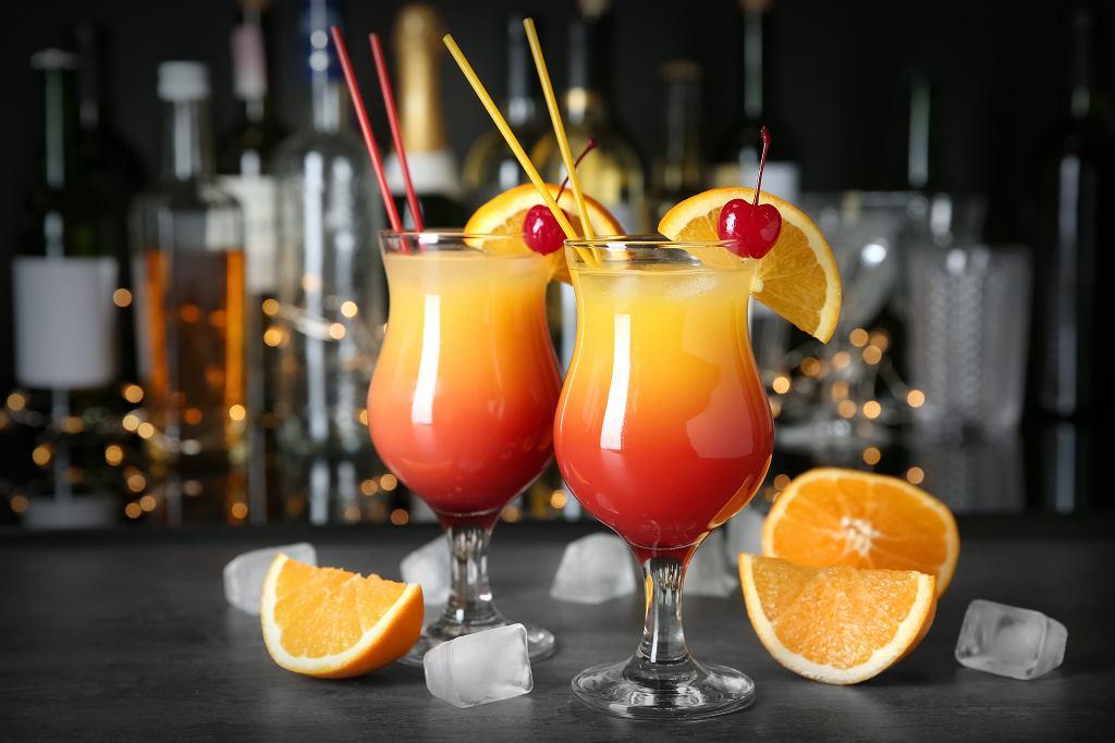 Dobre drinki z wódką: Sex on the beach - przepis