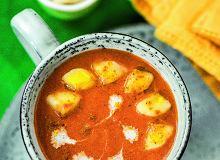 Zupa pomidorowa zbananami icurry - ugotuj