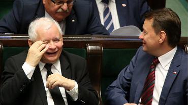 Sejm, ławy PiS, zdj. ilustracyjne