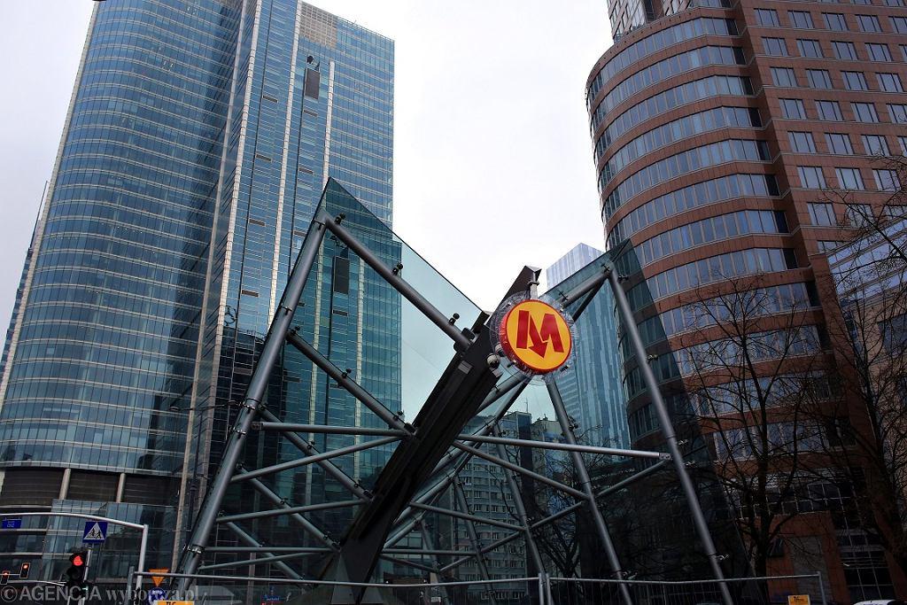Wejście do II linii metra