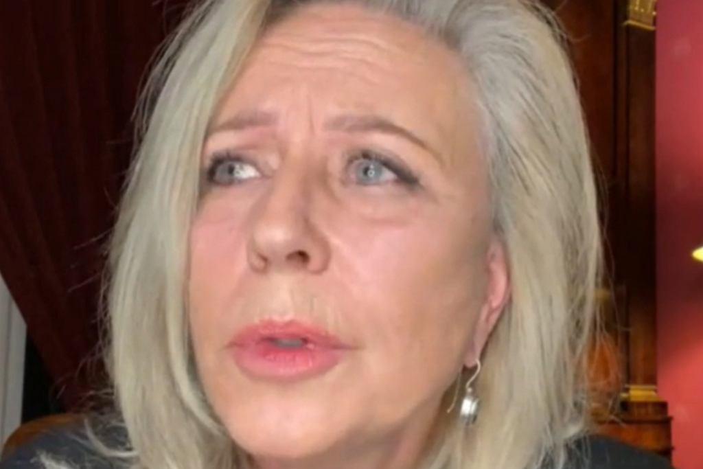 Krystyna Janda w programie 'Fakty po faktach' w TVN24