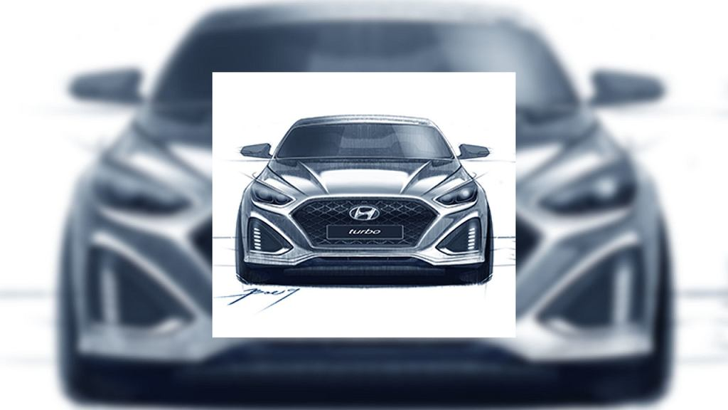 Szkice Hyundaia Sonata