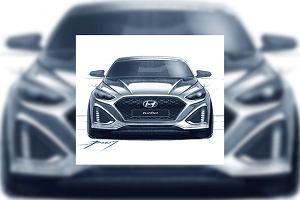 Hyundai Sonata   Pierwsze szkice