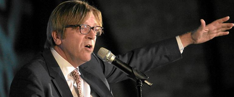 Polski sąd chce uchylenia immunitetu Verhofstadtowi. Na wniosek Ordo Iuris