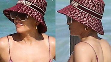 Jennifer Lopez znowu przyłapana w skąpym bikini. Zdjęcia nie kłamią. Wygląda tak dobrze, jak na instagramowych kadrach z siłowni?