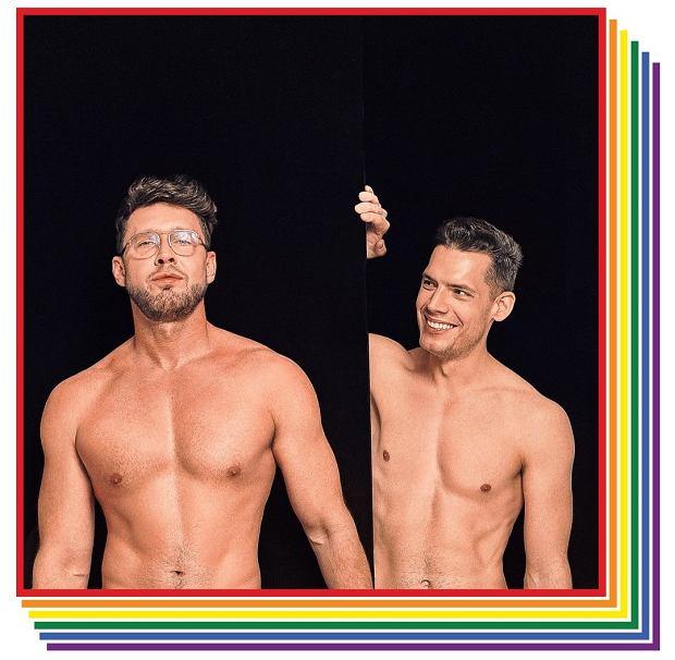 Zdjęcie Mateusza i Maciej w kalendarzu 'Repliki' (fot. Fotoman)