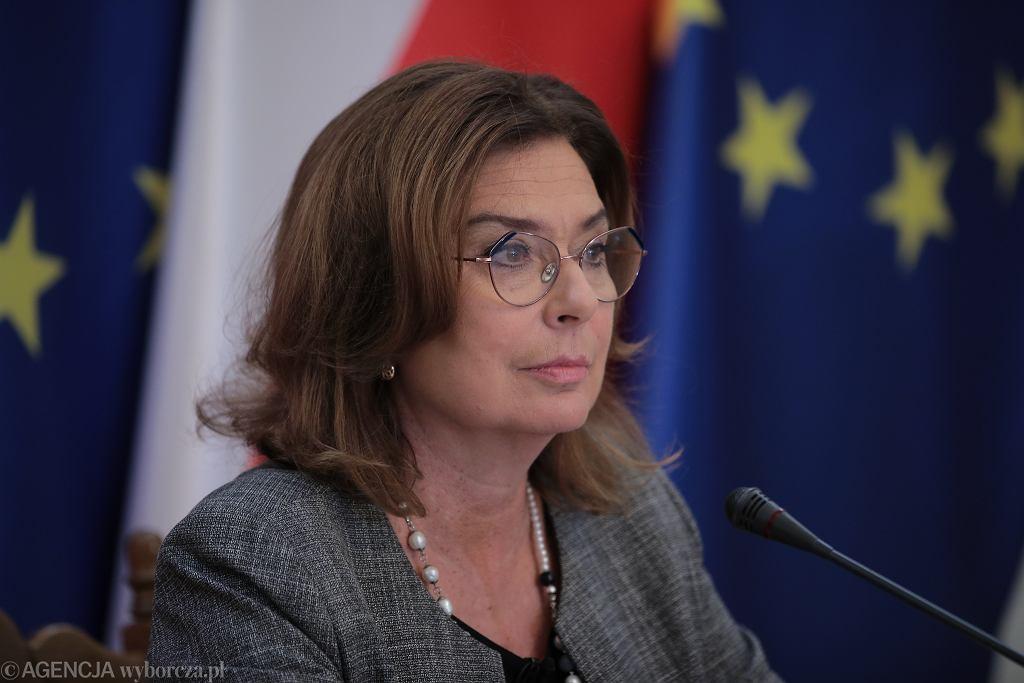 Małgorzata Kidawa-Błońska skrytykowała prezydenta Andrzeja Dudę za podpisanie tzw. ustawy kagańcowej (zdjęcie ilustracyjne)