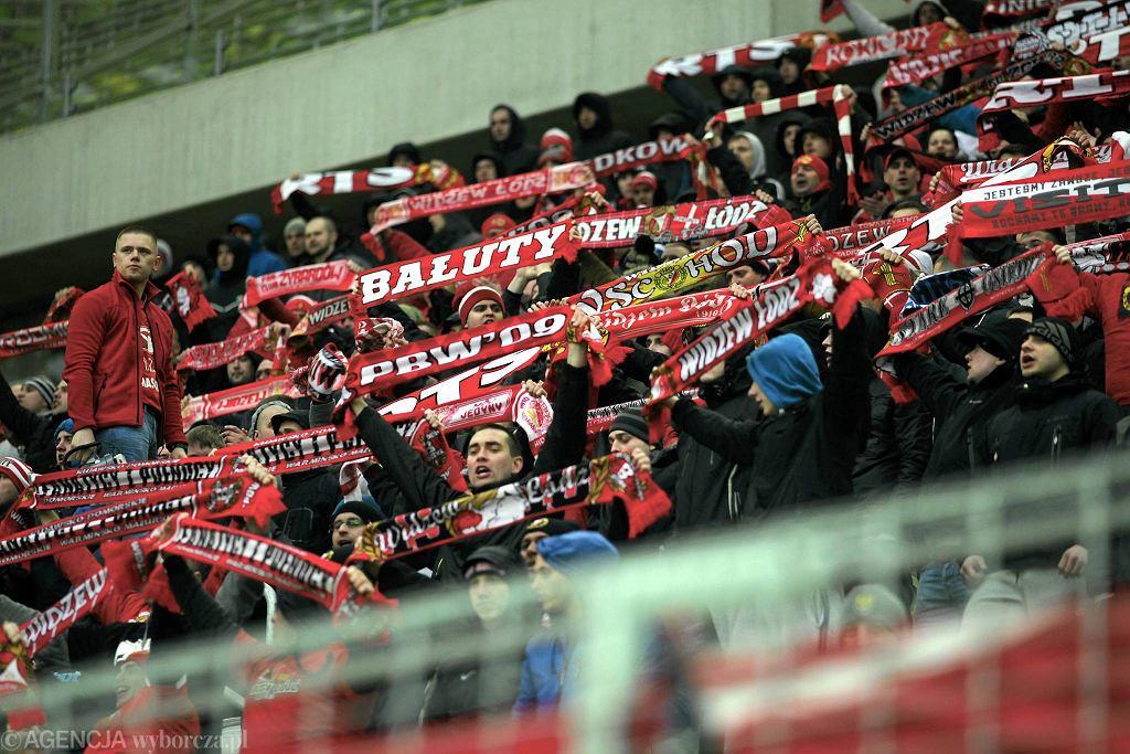 Lechia Gdańsk - Widzew Łódź 2:0. Kibice Widzewa