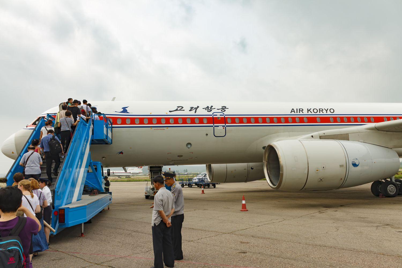 Samolot linii Air Koryo, narodowego przewoźnika Korei Północnej (fot. Shutterstock)