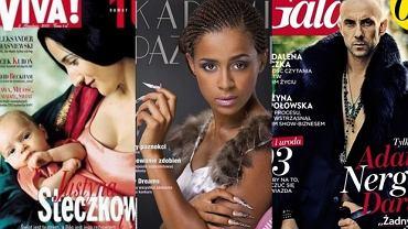 Ola Szwed, Nergal, Justyna Steczkowska.