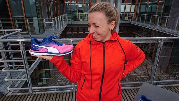 test butów do biegania, puma bieganie