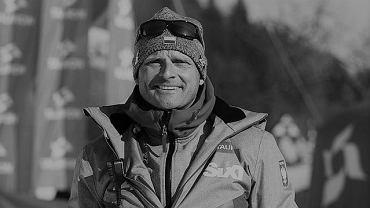 Vlado Kovar (zm. 03.02.2021), były trener reprezentacji Polski w narciarstwie alpejskim. Źródło: PZN/ Facebook