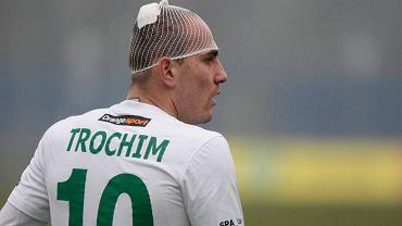 Wojciech Trochim dał się mocno we znaki zawodnikom Zagłębia Sosnowiec