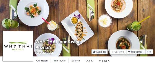 Kuchnia Tajska Restauracje W Poznaniu