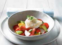 Halibut w maśle na gazpacho z arbuza - ugotuj