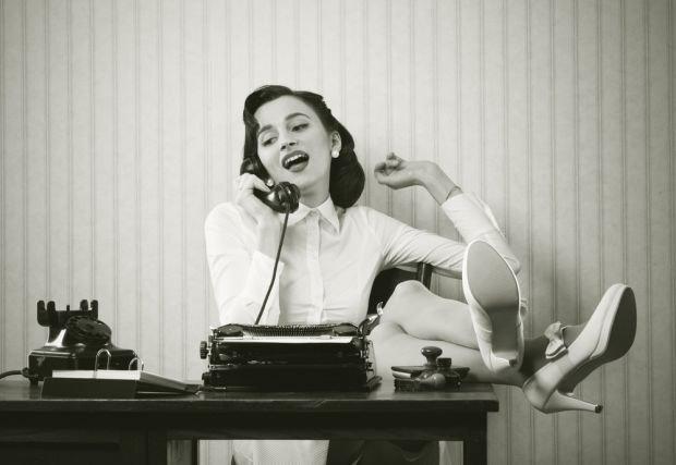 Sekretarka to zdaniem mężczyzn jeden z bardziej seksownych zawodów