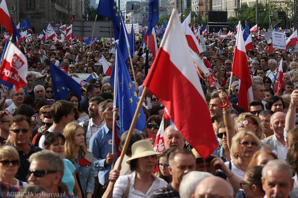 Marsz KOD Wszyscy dla Wolnosci
