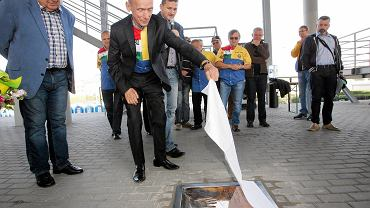 Swoje tablice pamiątkowe na gorzowskim stadionie mają już Zenon Plech i Mieczysław Cichocki