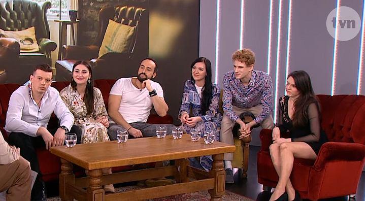 ekipa serialu 'Rekiny Warszawy' w DDTVN