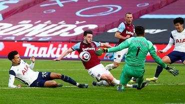 West Ham - Tottenham. Lukasz Fabianski