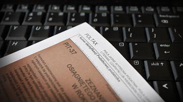 Deklaracja podatkowa PIT