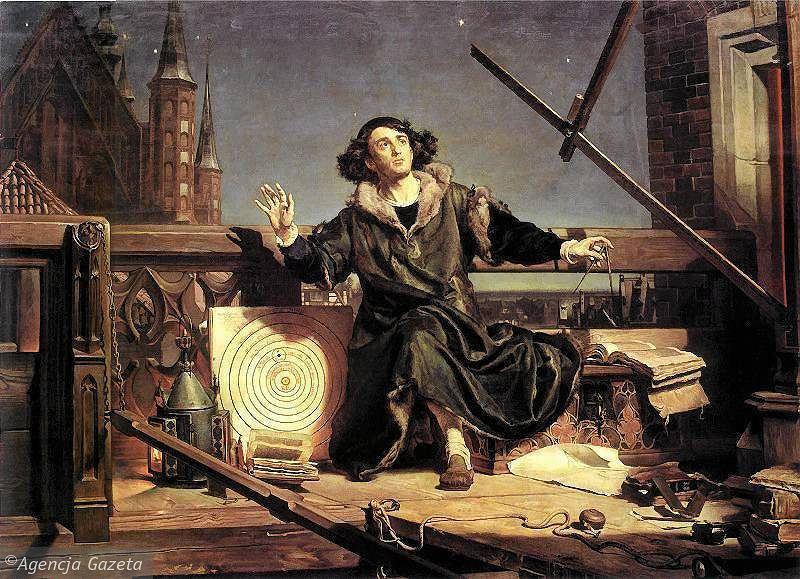 Mikołaj Kopernik na obrazie Jana Matejki