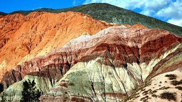 Cerro de los Siete Colores - Wzgórze Siedmiu Kolorów w argentyńskiej prowincji Jujuy