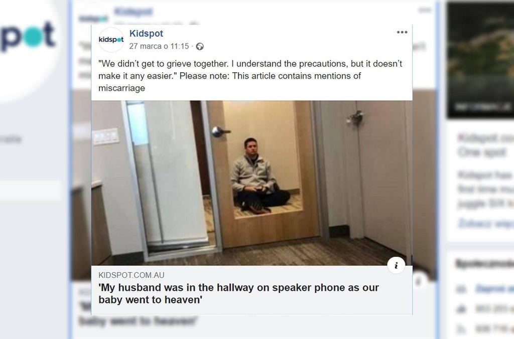 Screen z Facebook.com/KidspotAustralia