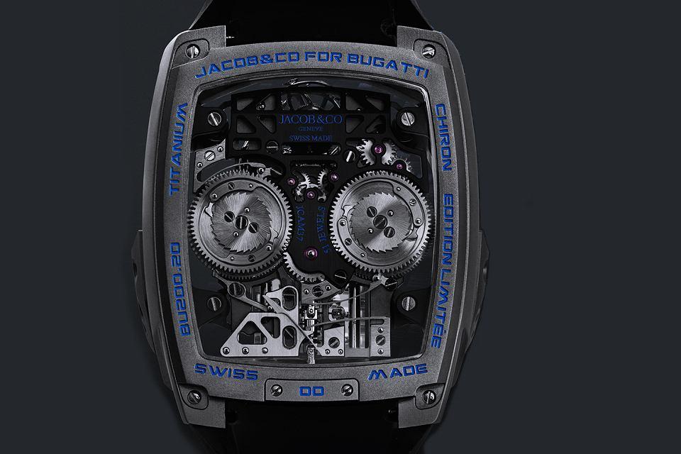 Zdjęcie numer 3 w galerii - Bugatti Chiron jako zegarek. Oto najnowsze dzieło Jacob and Co