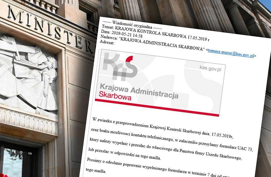 Ministerstwo Finansów ostrzega przed oszustami