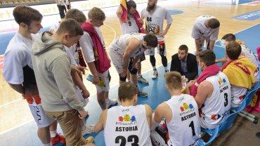 Mecz Astorii Bydgoszcz z GTK Gliwice