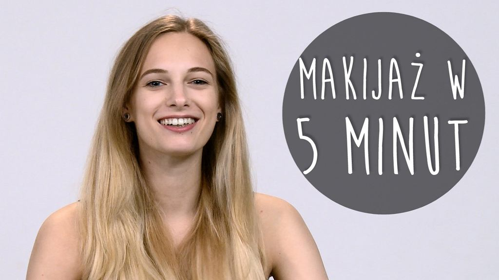 Makijaż w pięć minut