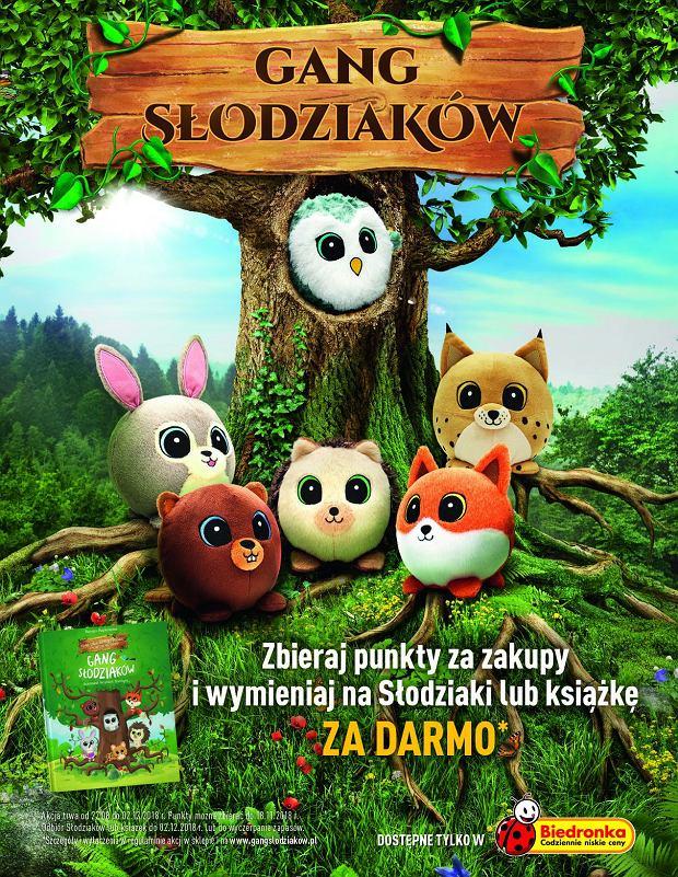 Akcja lojalnościowa Biedronki 'Gang Słodziaków' rozpoczyna się 27 sierpnia